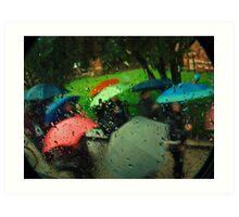 Umbrellas Of Verona Art Print