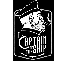 Captain Of The Ship Photographic Print