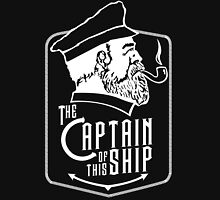 Captain Of The Ship Mens V-Neck T-Shirt