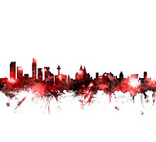 Liverpool England Skyline Photographic Print