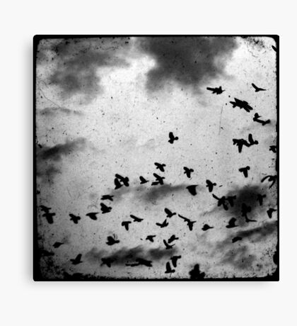 Doomsday (for black) Canvas Print