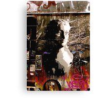 Graffiti Bust Canvas Print