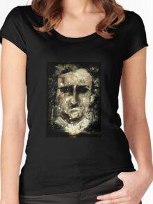 Edgar Poe Women's Fitted Scoop T-Shirt