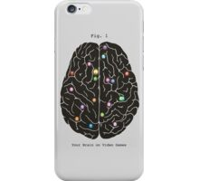 Your Brain On Video Games  iPhone Case/Skin