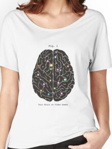 Your Brain On Video Games  Women's Relaxed Fit T-Shirt