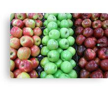 An apple a day ... Canvas Print
