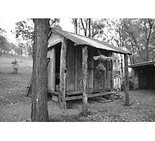 Slab Hut Photographic Print