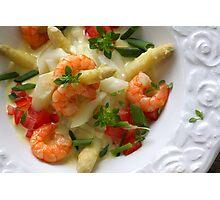 Asparagus With Saffron  Photographic Print