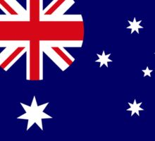 Australian American Multinational Patriot Flag Series Sticker