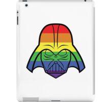 Rainbow Darth Vader iPad Case/Skin