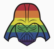 Rainbow Darth Vader T-Shirt