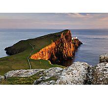 Neist Point Sunset, Isle of Skye Photographic Print