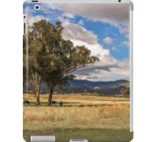 Rural View on Gundy Road, Scone NSW, Australia iPad Case/Skin