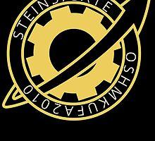 Steins;Gate El Psy Congroo Future Gadget Lab Logo Anime T Shirt by ryoka