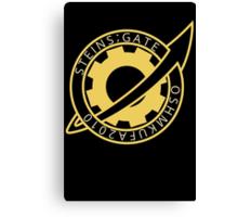 Steins;Gate El Psy Congroo Future Gadget Lab Logo Anime T Shirt Canvas Print