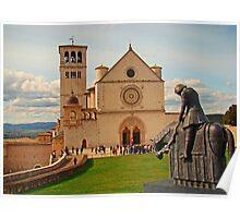 Basilica Di San Francesco Assisi II Poster
