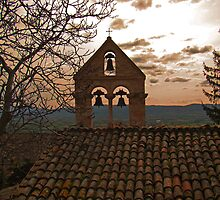 The Bells Of Santa Croce  by Al Bourassa
