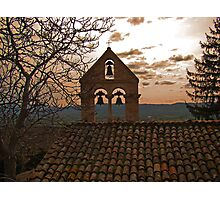 The Bells Of Santa Croce  Photographic Print