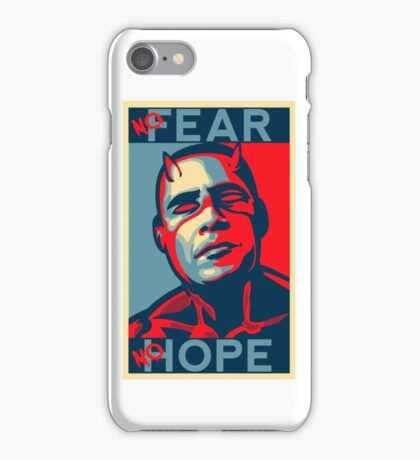 A man with no fear... iPhone Case/Skin