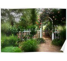 Dreamy Garden Poster