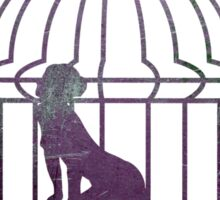 Caged Existance Sticker