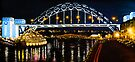 Oil Painting - Newcastle Bridge by Svetlana Sewell