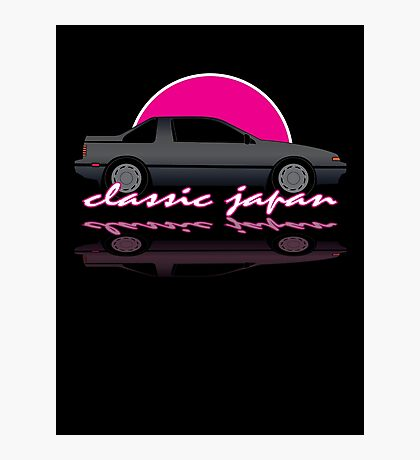 Classic Japan - Nissan Exa Coupe Photographic Print