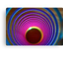 Colour Tunnel Canvas Print