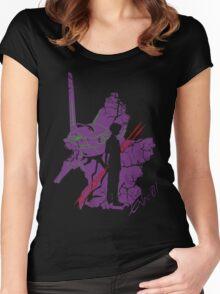 Evangelion Unit-01 Women's Fitted Scoop T-Shirt