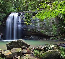 Buderim Falls - Sunshine Coast by Garry Schlatter