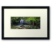 Buderim Falls - Sunshine Coast Framed Print