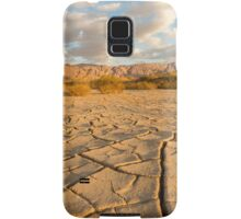 parched ground in the Aravah desert, Israel Samsung Galaxy Case/Skin