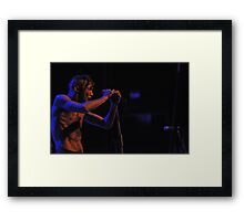 Tricky Kid Framed Print