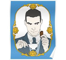 Tea Time for Sherlock - Jim Moriarty Poster