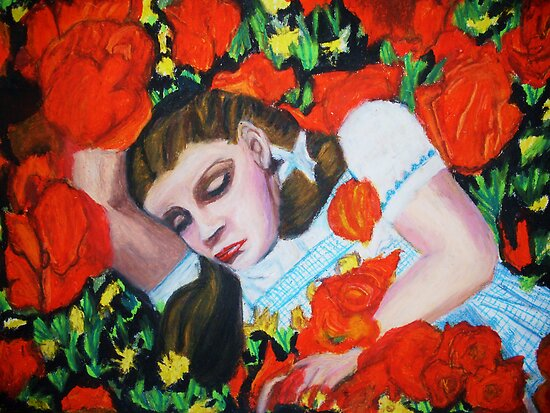 ASLEEP IN THE POPPIES , WIZARD OF OZ by JoAnnHayden