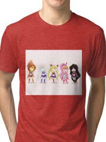 Adventure Time Sailor Scouts Fan Art Tri-blend T-Shirt