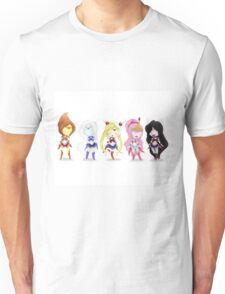 Adventure Time Sailor Scouts Fan Art Unisex T-Shirt