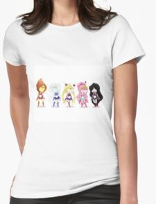 Adventure Time Sailor Scouts Fan Art Womens Fitted T-Shirt