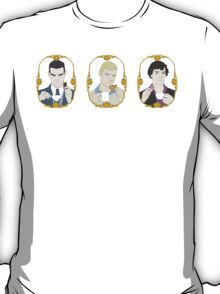 Tea Time for Sherlock - Trio T-Shirt