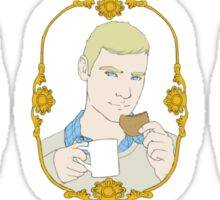 Tea Time for Sherlock - Trio Sticker