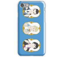 SHERLOCK - Tea Time for Sherlock - Trio iPhone Case/Skin