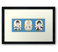 SHERLOCK - Tea Time for Sherlock - Trio Framed Print