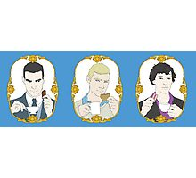 SHERLOCK - Tea Time for Sherlock - Trio Photographic Print