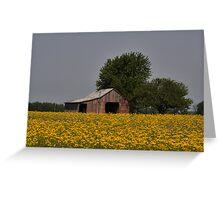 Bloomin' Barn Greeting Card