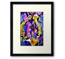 Right Of Passage Framed Print