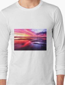 Mornington Peninsula - ocean sunset Long Sleeve T-Shirt