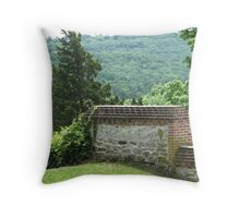 Stone Hill Winery, Missouri Throw Pillow