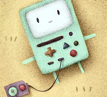 BMO Fan Art by riaartworld
