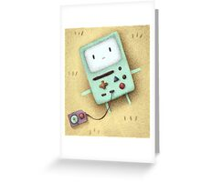 BMO Fan Art Greeting Card