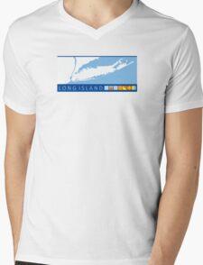 Long  Island - New York. Mens V-Neck T-Shirt